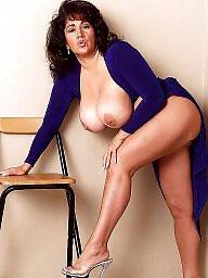 Mature big boobs, Ashley, Big mature