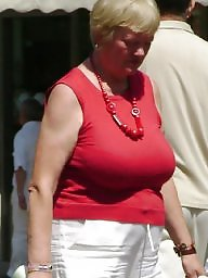 Granny big boobs, Big granny, Busty granny, Clothed, Mature, Busty mature