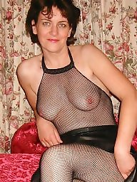 Bodystocking, Bodystockings, Stockings, Stocking, Milf stockings, Brunette milf