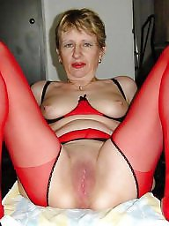 Mature stocking, Mature stockings, Amateur mature