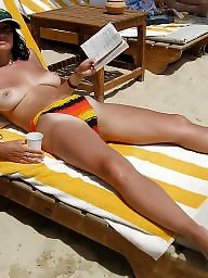 Sunbathing, Mature latin, Amateur mature, Sunbath, Mature tits, Latin