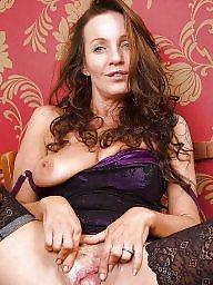 Mature stockings, Blond mature, Mature stocking