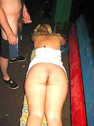 Public sex, Round ass, Group, Big ass, Public, Group ass