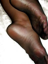 Feet, Stocking feet, Mature feet, Mature cum, Amateur stockings, Stockings