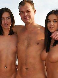 Nude beach, Public nudity, Public, Tanya, Ukrainian, Nude