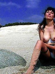 Milf flashing, Milf beach, French, French milf