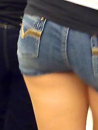 Big butt, Big ass, Hidden cam, Jeans, Teen shorts, Ass up