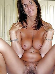 Mature hairy, Hairy mature, Tanning, Tanned, Hairy milfs