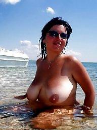 Beach boobs, Beach voyeur, Voyeur, Beach, Big tits beach, Beach tits