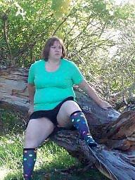 Bbw stockings, Bbw stocking, Park