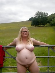 Public bbw, Fat, Bbw flashing, Fat bbw, Saggy, Outside