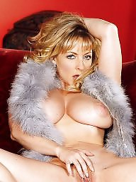 Mature big boobs, Fur, Big mature