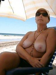 Mature beach, Beach, Beach mature, Mature, Mature tits, Matures