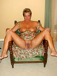 Blonde mature, Ann, Blonde milf