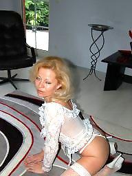 Lady, Lady b, Mature stockings