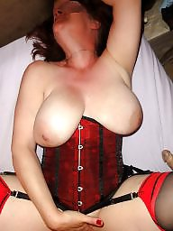 Stocking milf, Red