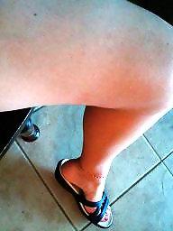 Подросток ножки ступни