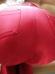 Bend over, Tight ass, Spandex, Tight, Amateur ass, Milf ass