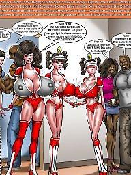 Interracial cartoons, Big tit brenda, Smudge, Interracial cartoon, Big tits cartoon, Brenda