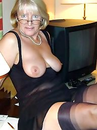 Mature stockings, Lady, Lady b, Mature stocking