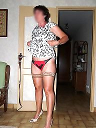 Thong, Mature dressed, Mature dress, Mature thong, Dressing, Thongs