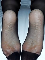 Amateur nylon, Nylon feet, Feet, Nylons, Mature feet, Wife