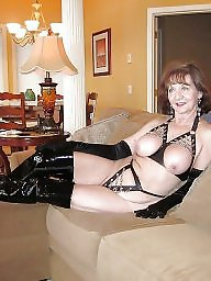 Mature leather, Pvc, Mature pvc, Leather, Leather milf, Amateur mature