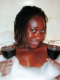 Flashing ebony, Night, Interracial