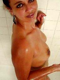 Latina mature, Mature latina, Barbara, Mature shower