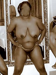 Ebony amateur, Naked, Ebony public, Collage, Wifey