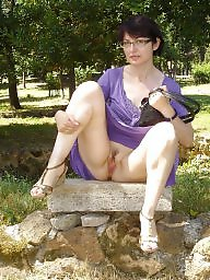 Mature upskirt, Upskirt mature, Amateur mature