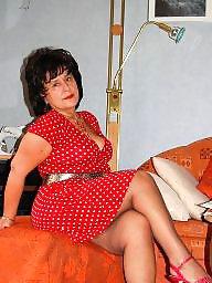 Upskirt mature, Upskirt, Shoes, Mature stockings, Shoe