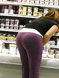 See through amateur, Leggings, Wives, Tight ass, Tight leggings, Leggings ass