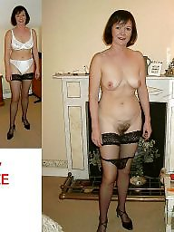 Naked, Dressing, Wives, Dressed, Dress, Uk amateur
