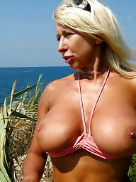 Mature beach, Mature outdoor, Milf public, Beach mature, Lady b, Milf beach