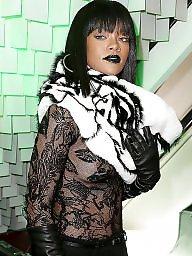 Ebony tits, Rihanna