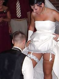 Stockings upskirt, Upskirt stockings, Bride, Brides
