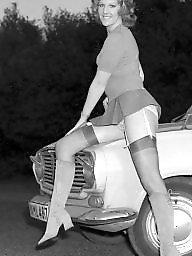 Vintage stockings, Stockings upskirt, Vintage upskirt, Black stockings, Vintage, Black upskirt