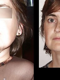 Amateur facial, Before after facial, Before after, Before, Christine