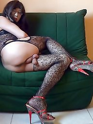Fishnets, Mature stockings, Fishnet, Black stockings, Amateur mature, Mature black