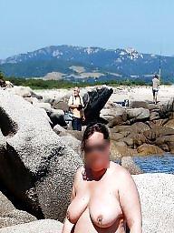 Public milf, Milf beach, Exhib, Beach voyeur