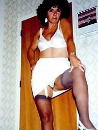 Vintage stockings, Vintage milf