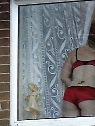 Hidden cam, Spy, Neighbour, Window, Hidden, Spying