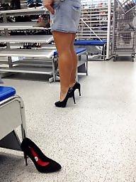 Shopping, Shoes, Shoe, Mature, Shop