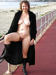 Flashing, Public, Flash, Milf, Amateur milf, Public flash