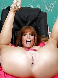 Mature redhead, Ass mature, Pink, Darla crane, Pretty, Redhead mature