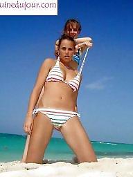 Girli, Amatör plaj