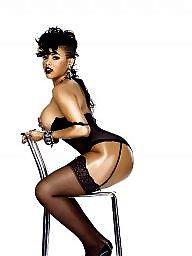 Ebony lingerie, Black stockings, Flashing ebony, Stockings ebony, Ebony stockings, Black women