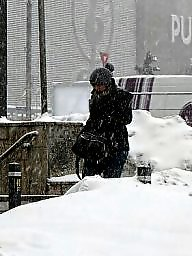 Young amateur, Old young, Hidden cam, Hidden, Snow, Old