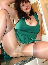 Mature stockings, Mature dressed, Mature dress, Mature stocking, Sexy dress, Mummy